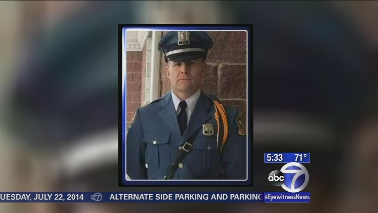 New Jersey officers funeral is Tuesday