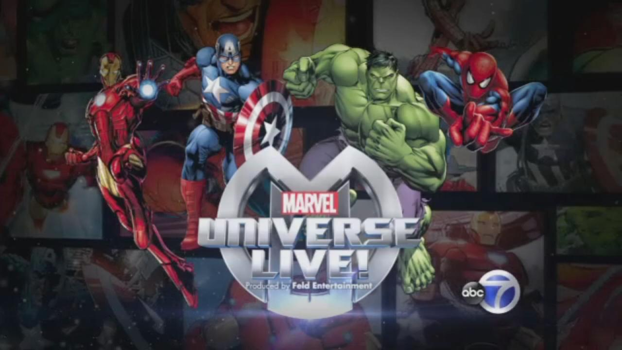 Marvel Universe Live! Backstage Pass>