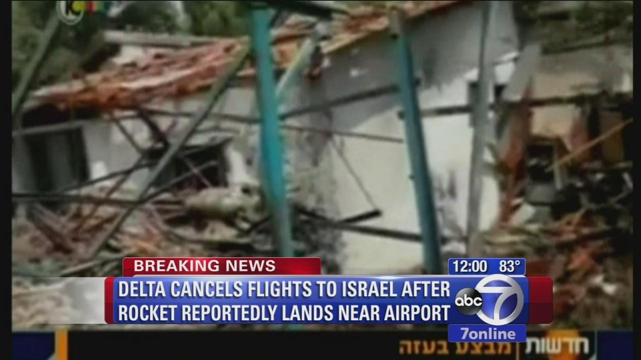 Delta, United cancel flights to Israel