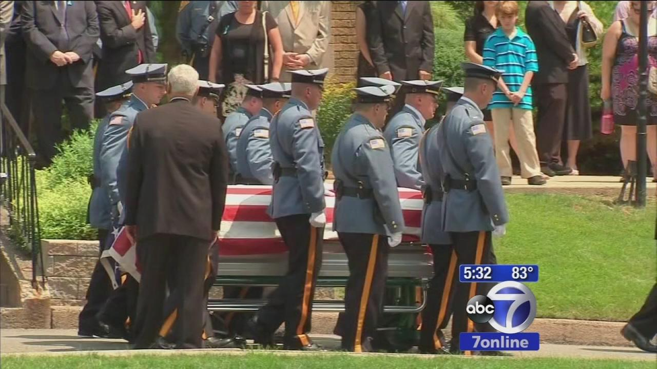 Waldwick officer killed in accident laid to rest