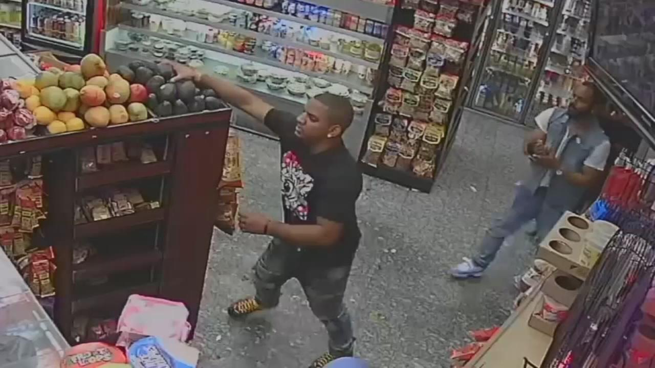Avocado assault in the Bronx caught on camera
