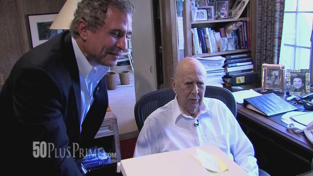 Fathers Day with a Legend: Carl Reiner on 50PlusPrime
