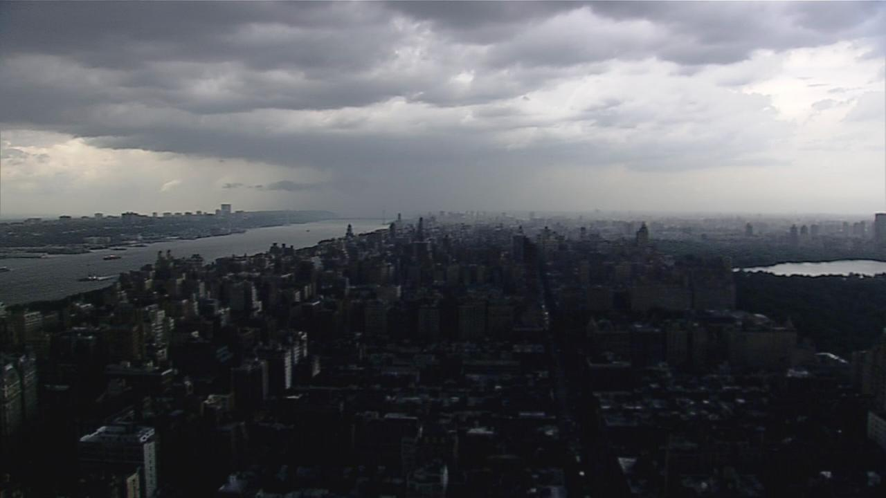 Timelapse: Storm moves into NYC