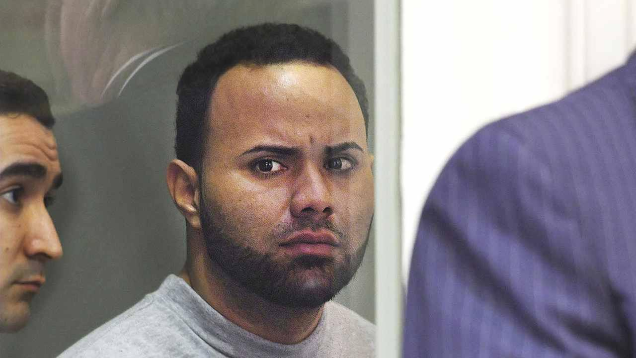 Angelo Colon-Ortiz is arraigned on April 18 in connection to the death of Vanessa Marcotte in Leominster, Mass.