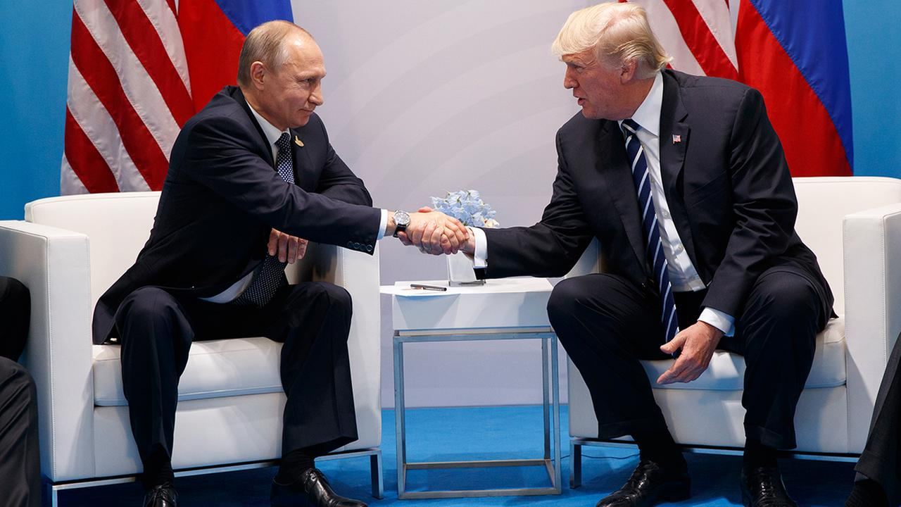 US President Donald Trump congratulates Vladimir Putin, summit on cards