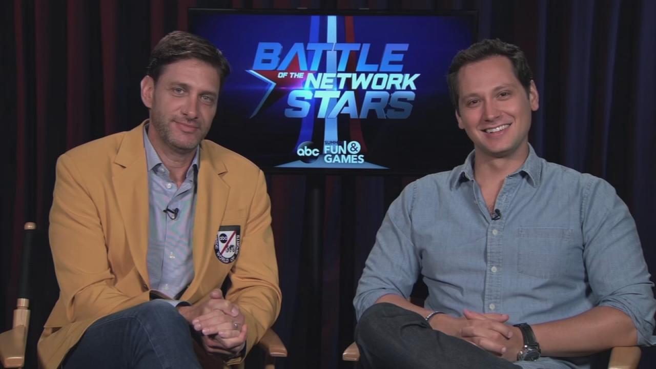 Mike Greenberg and Matt McGorry talk about Battle of the Network Stars