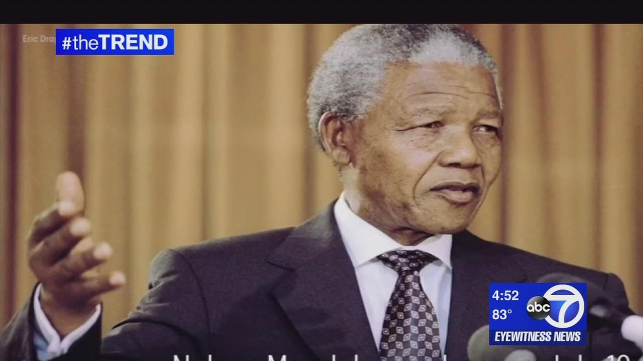 The Trend: The world remembers Nelson Mandela