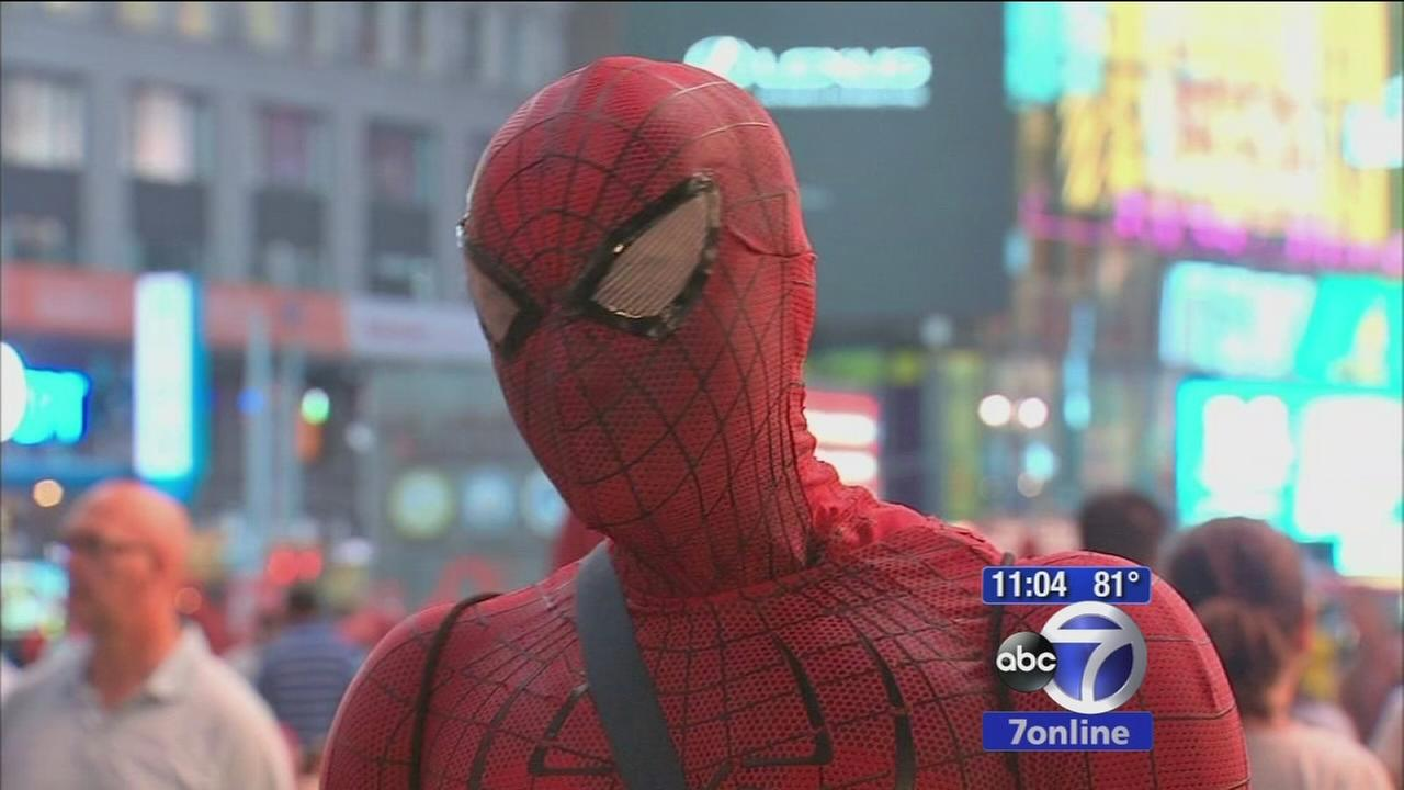 Call for crackdown after man dressed Spider-Man accused of punching cop