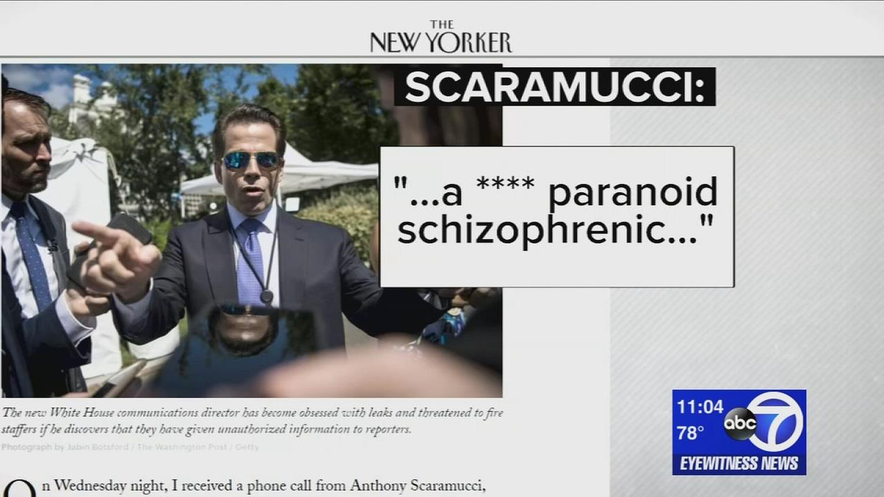 Anthony Scaramucci Still Doesn't Know How Journalism Works