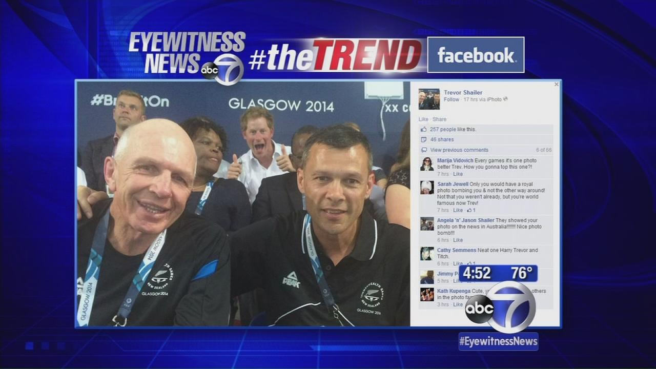 #theTREND: Royal Photobombs and More