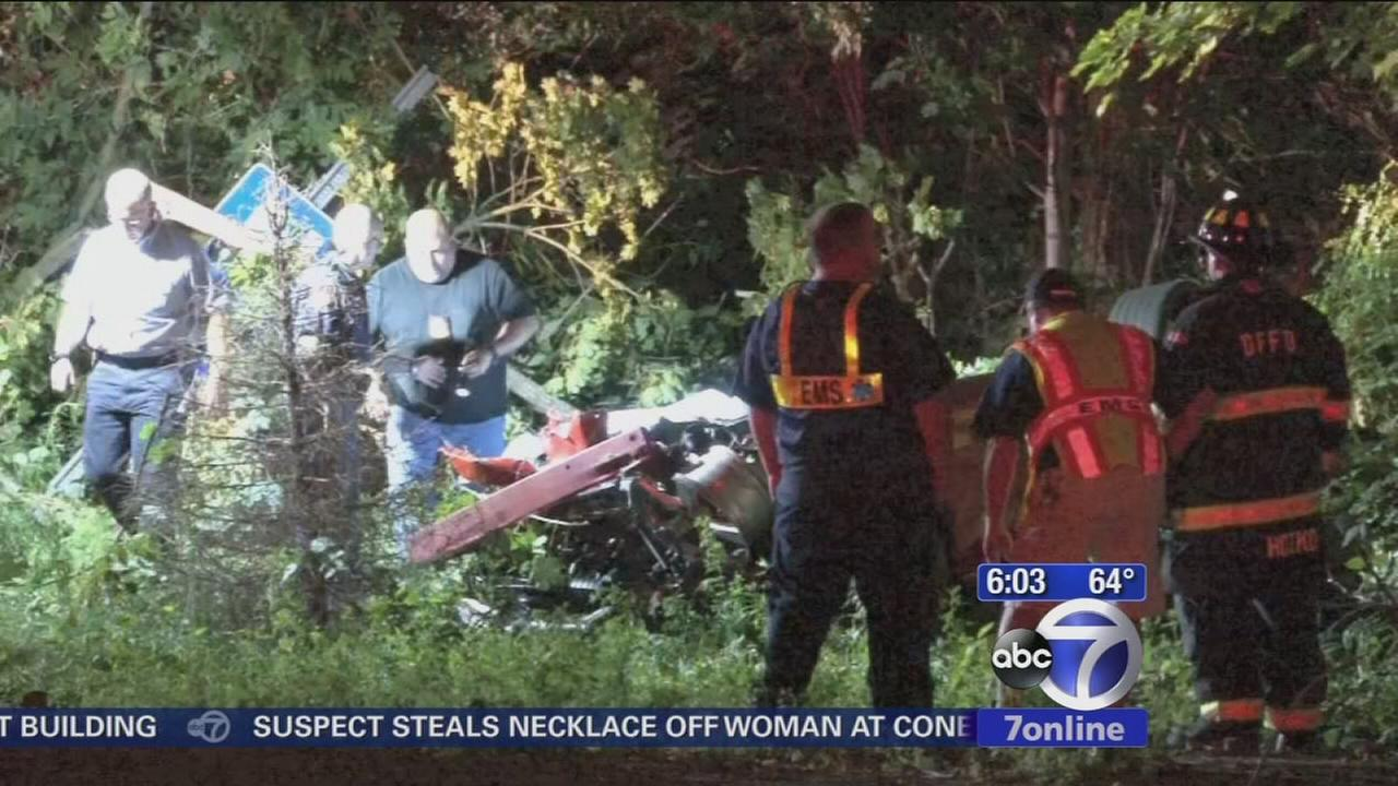 Man killed after driving off bridge in Westchester
