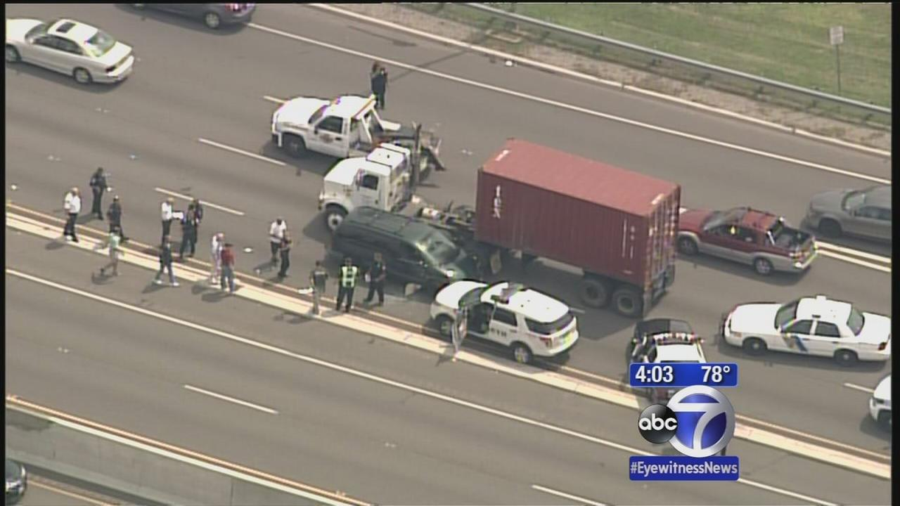 Police chase across 3 counties in NJ ends with arrest