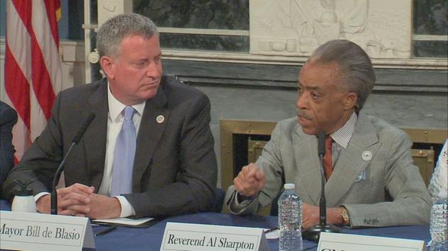 Mayor defends Sharpton's comments on Garner case
