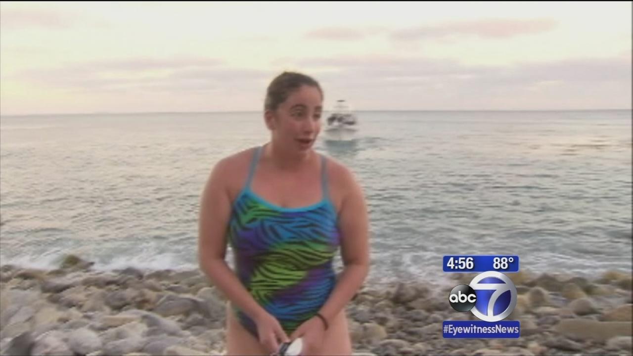 NJ teen attempts swimming record