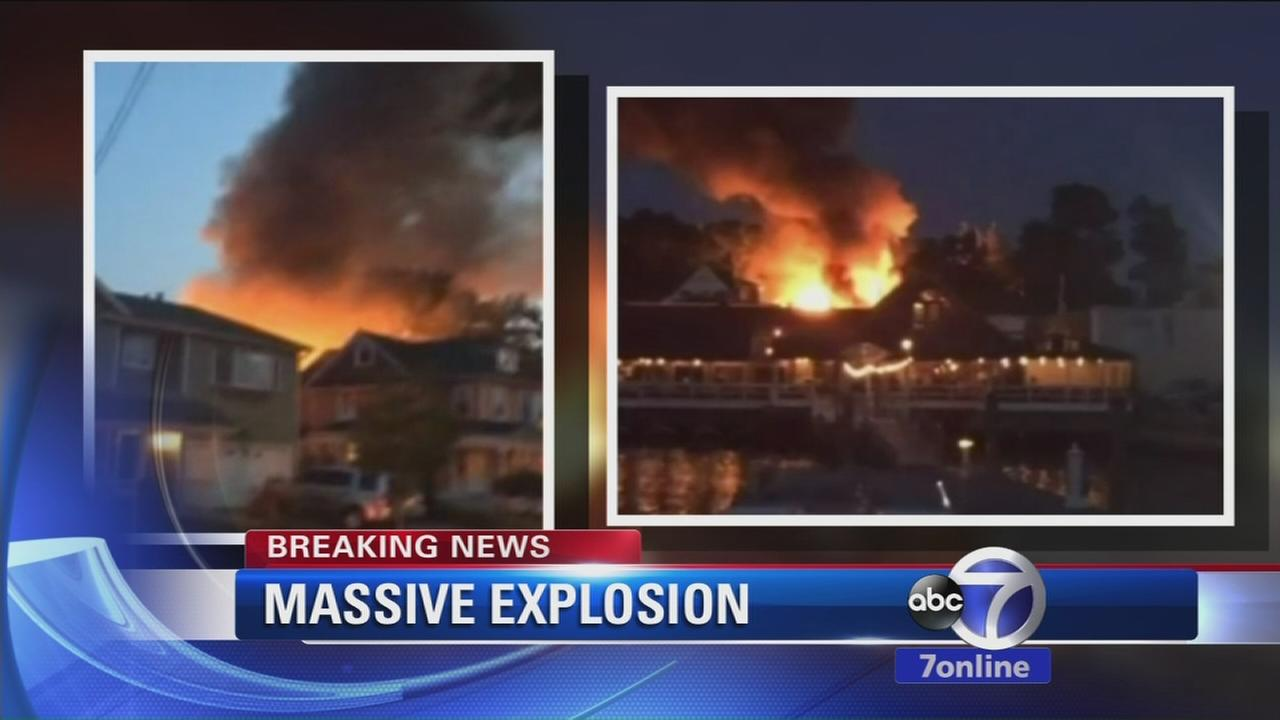 Massive explosion kills 1 in Port Washington