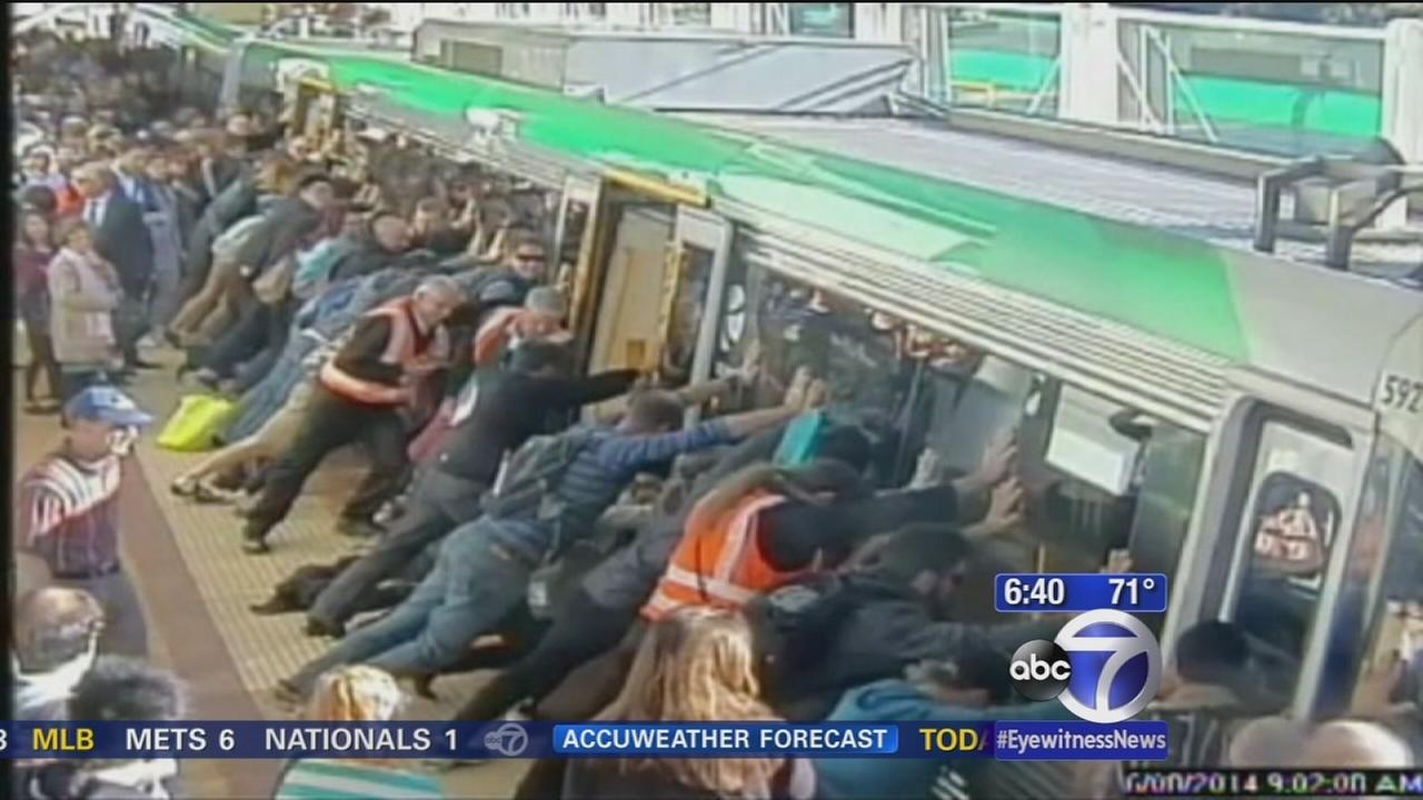 Australian commuter mishap