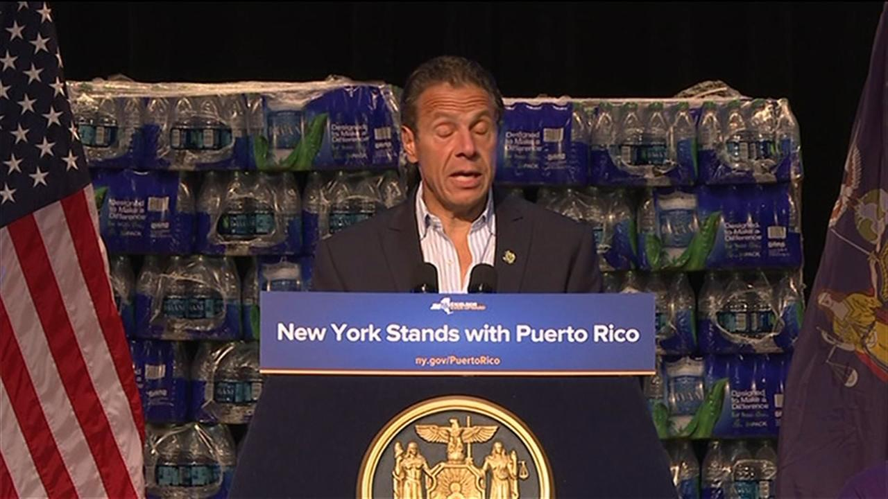 Gov. Cuomo announces new effort for Puerto Rico