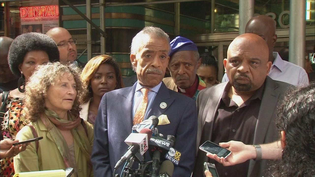 Sharpton angered by threat of police slowdown