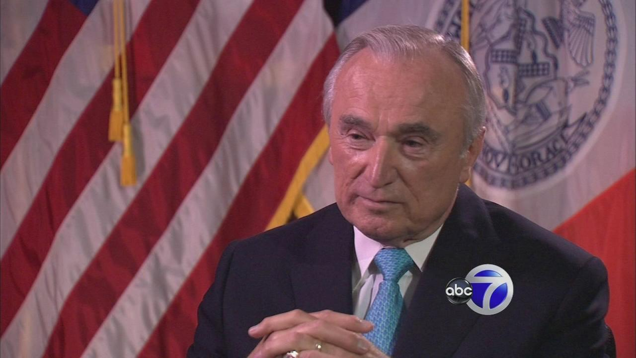 Bratton to Step Down as NYPD Commissioner After 2017