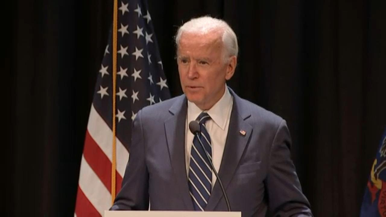 Joe Biden at Rutgers: New campus sex assault guidelines not an improvement
