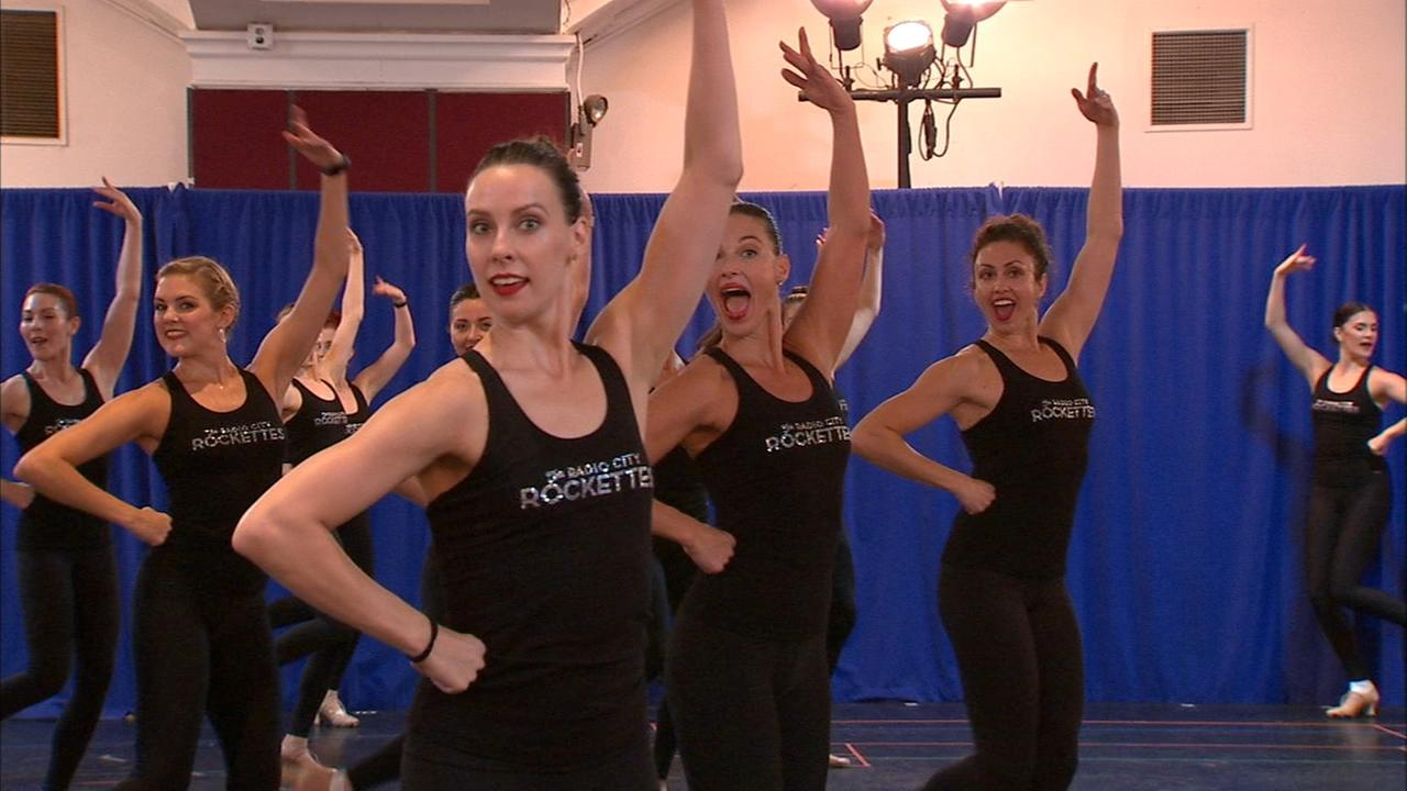 Rockettes rehearsals underway