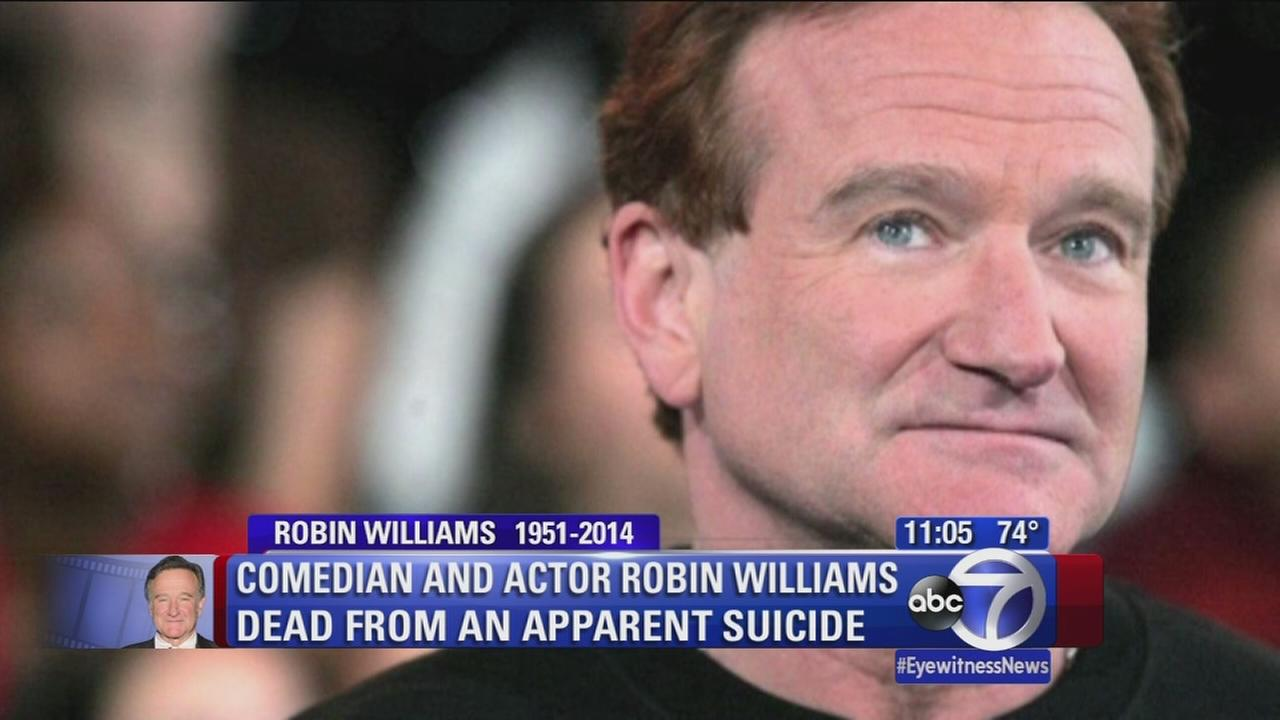 Fellow comedians remember Robin Williams