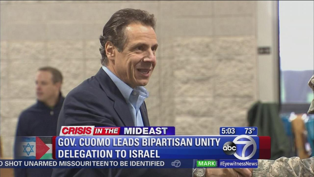 Cuomo, lawmakers head to Middle East to show solidarity with Israel