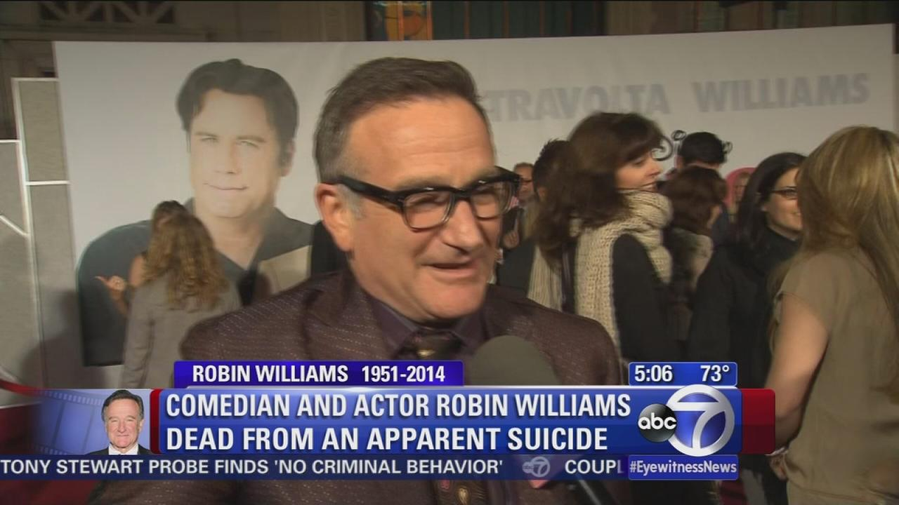 A look back at the life and career of Robin Williams