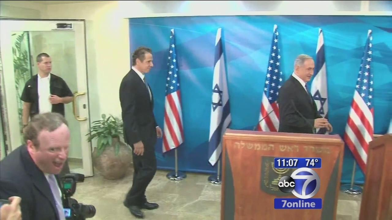 Governor visits Israel in show of support