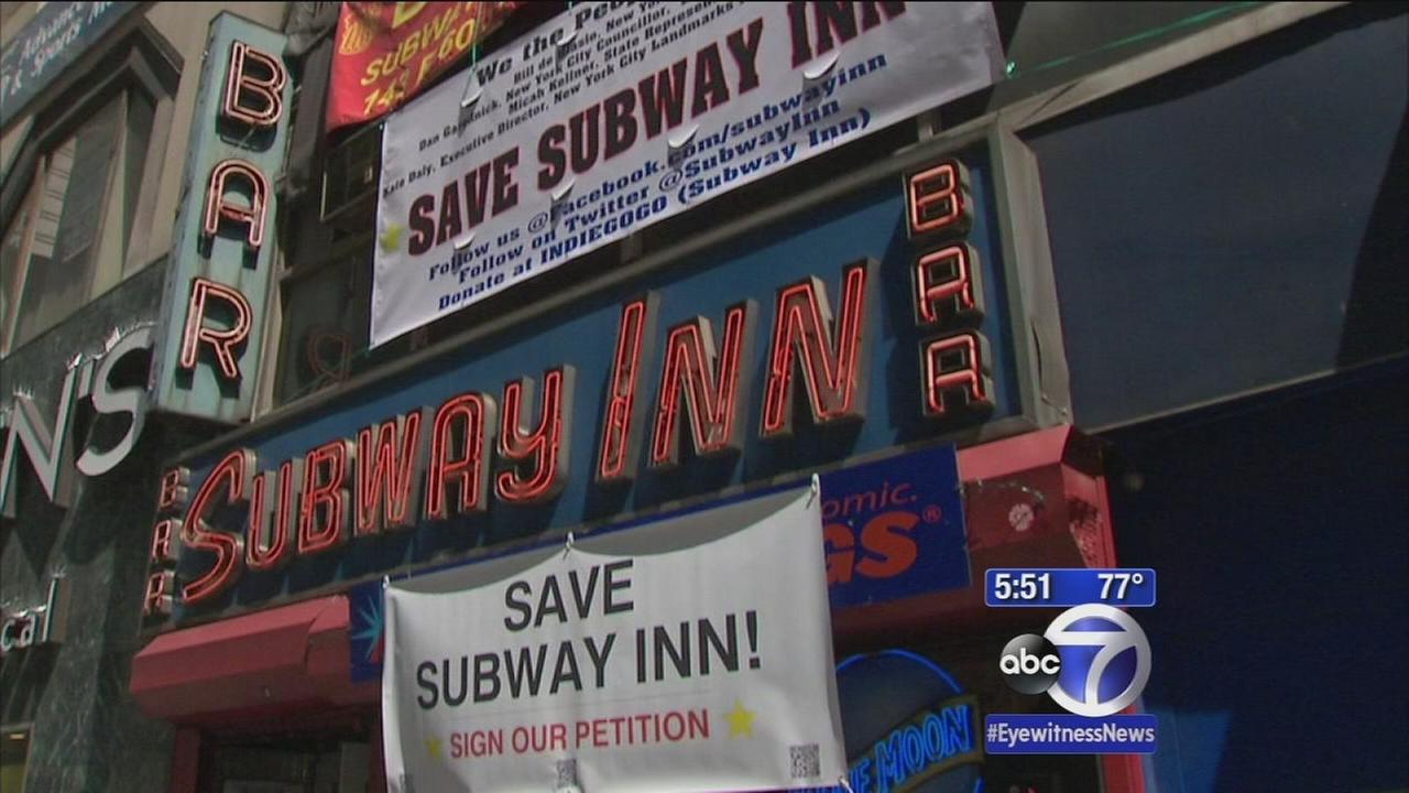 Old-time Manhattan dive bar facing eviction