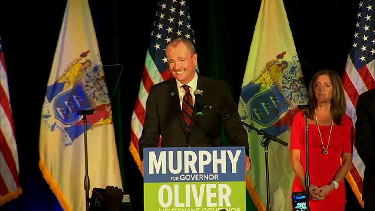 Democrat Phil Murphy wins NJ governor's race