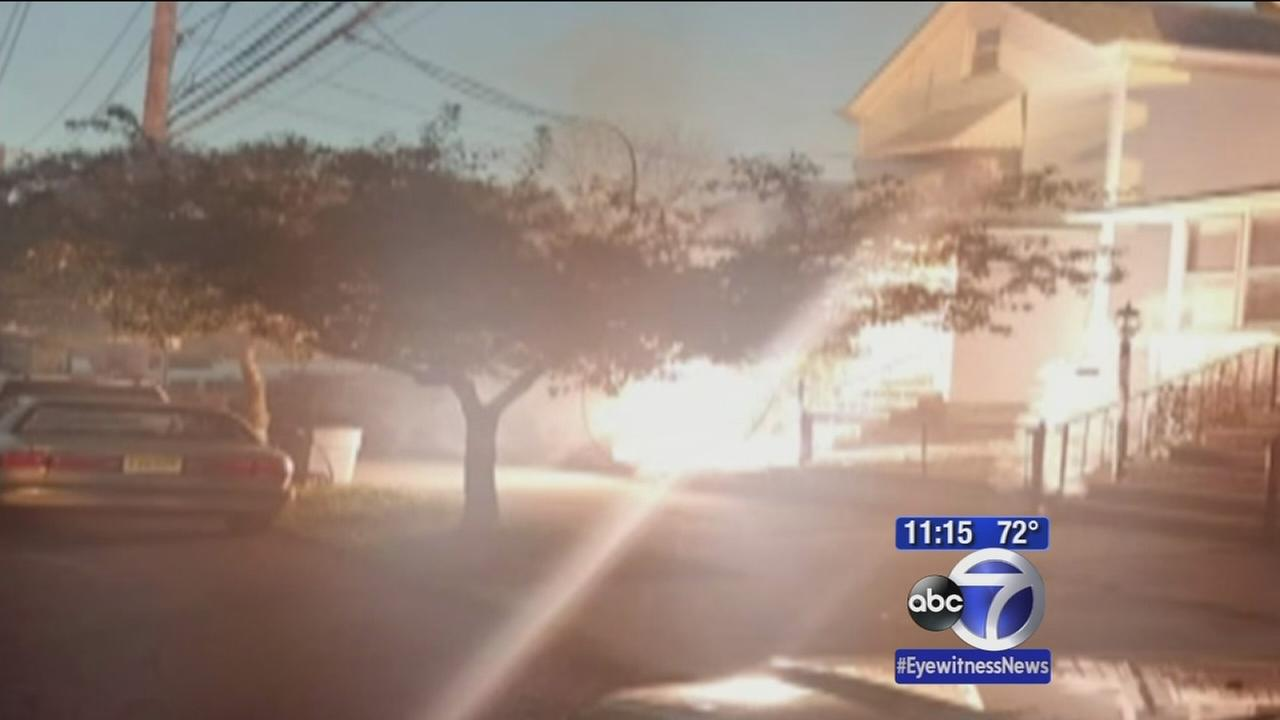 Balloon falling on wires causes house fire