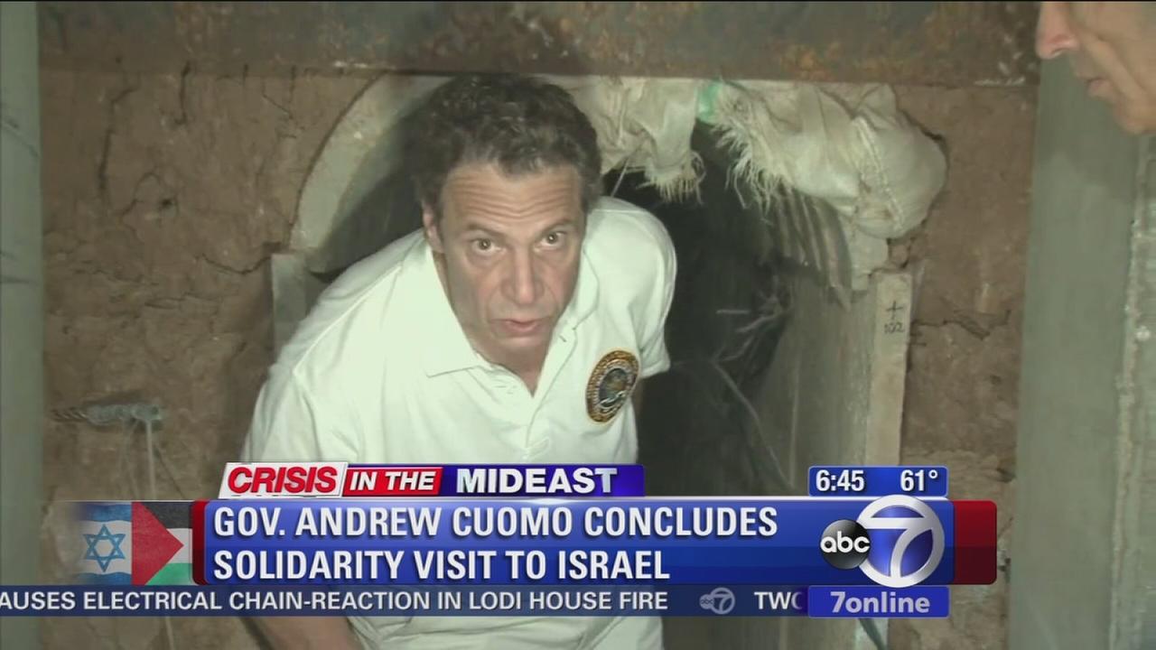 Gov. Cuomo returns from Israel trip