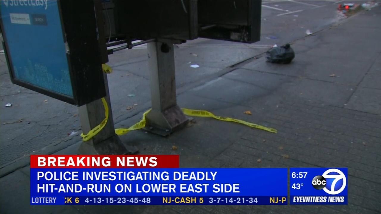 Deadly hit and run on the Lower East Side