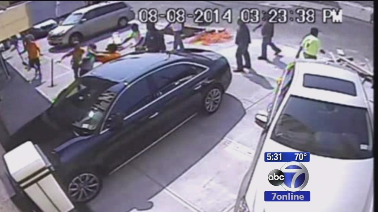 Caught on Camera: Fight between pastor and workers at Queens hotel