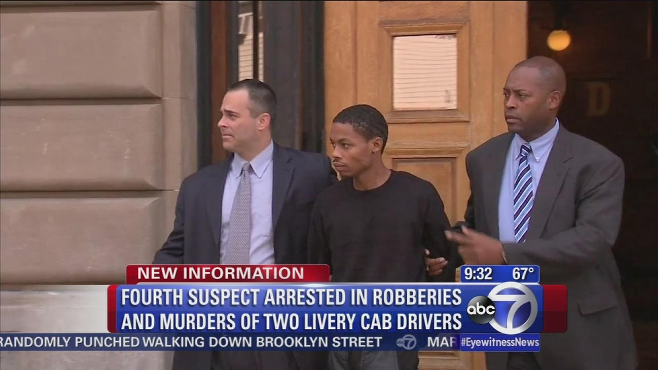4th suspect arrested in livery cab carjackings