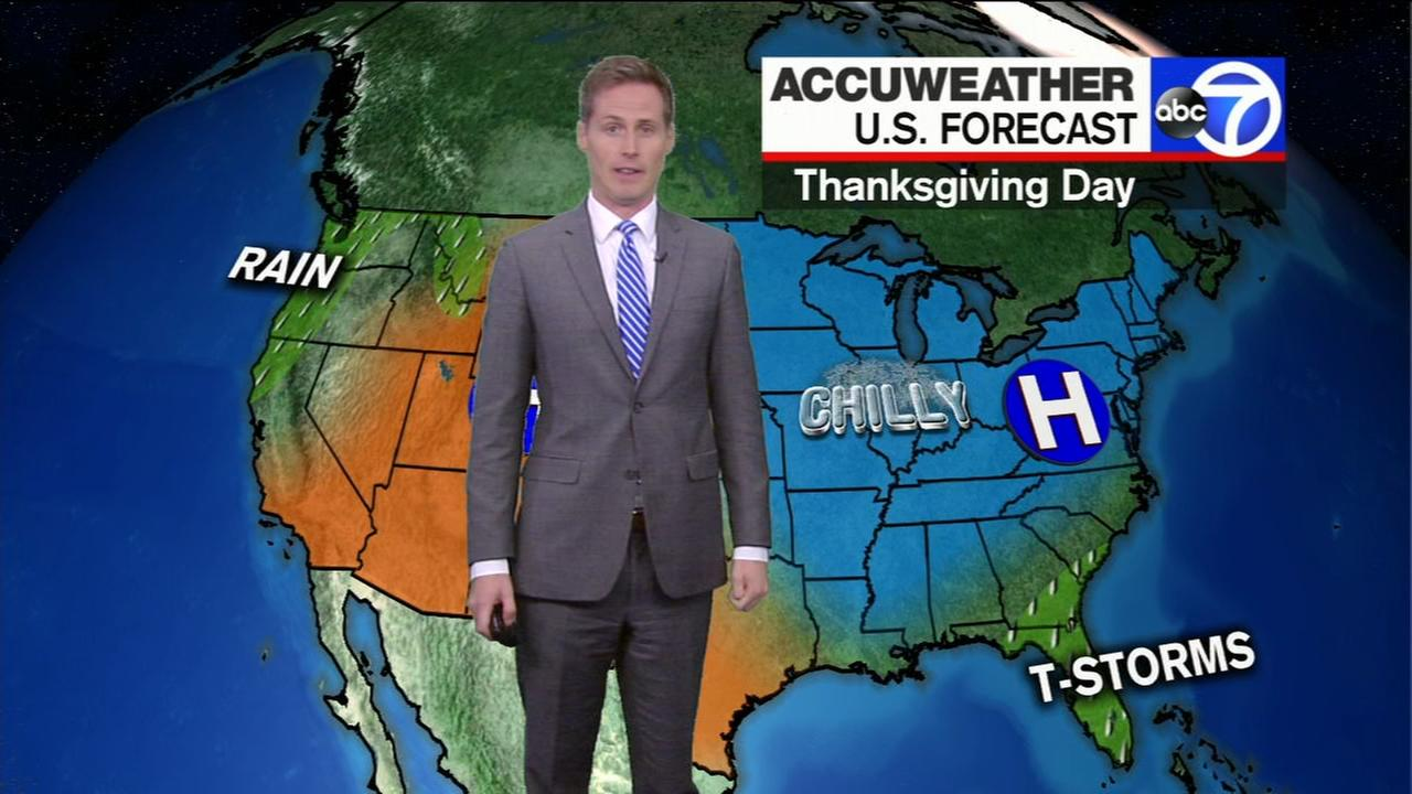 Your Thanksgiving Travel forecast