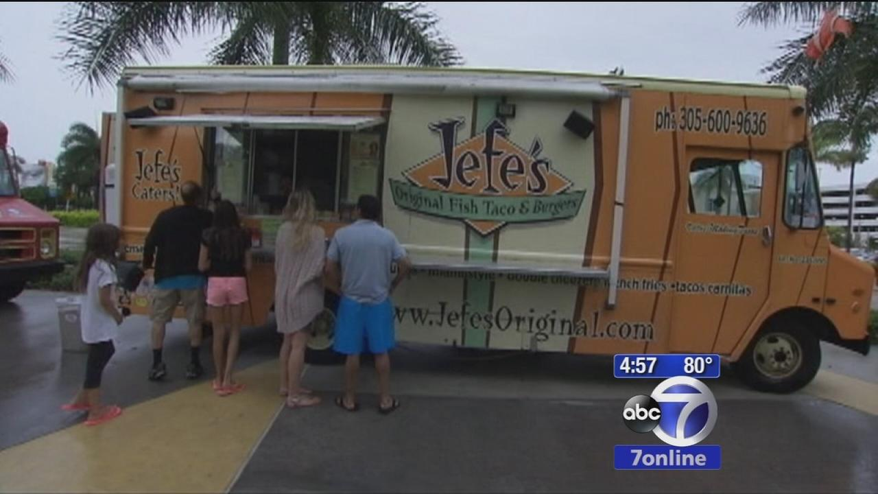 Food trucks: Clean or germ paradise?