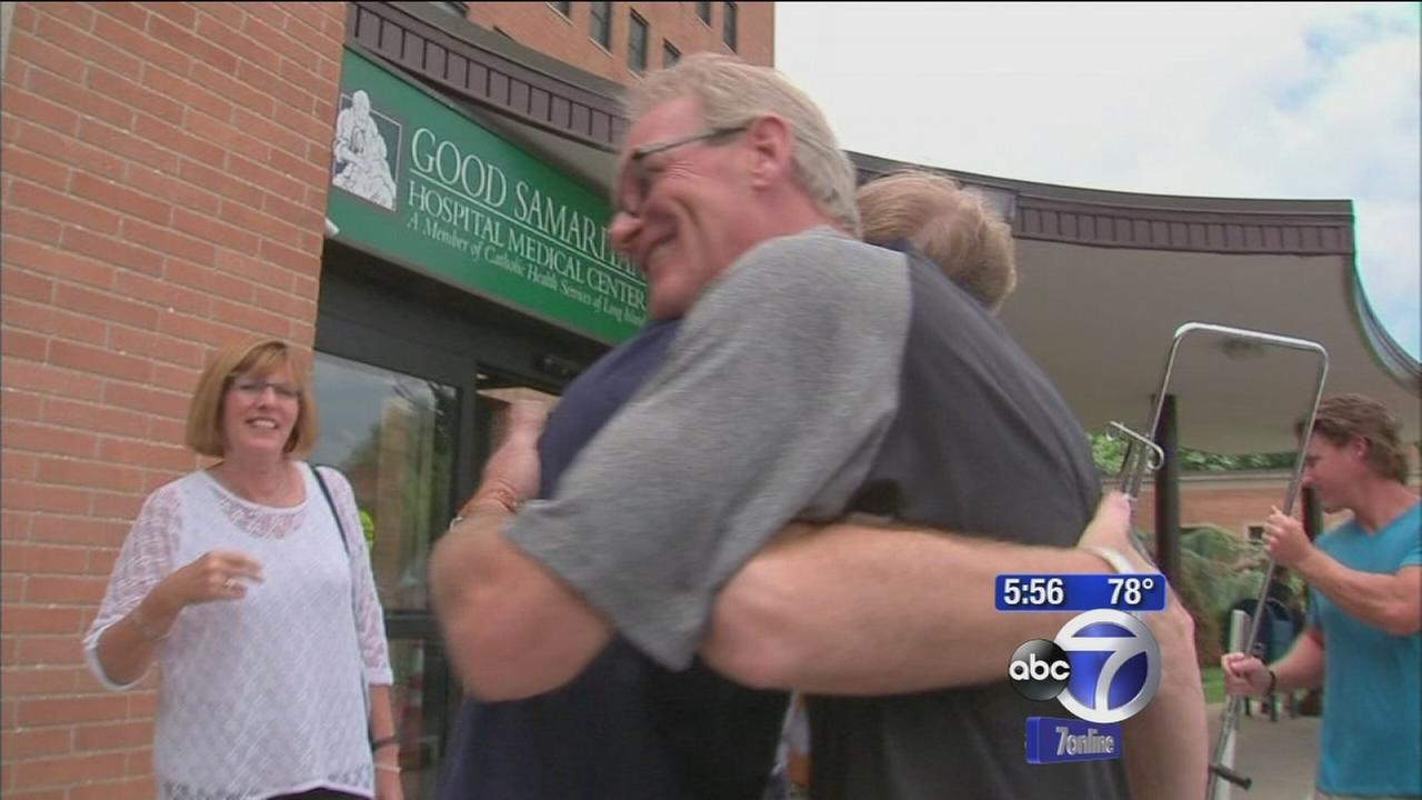 Bystander saves stranger during heart attack on the LIRR