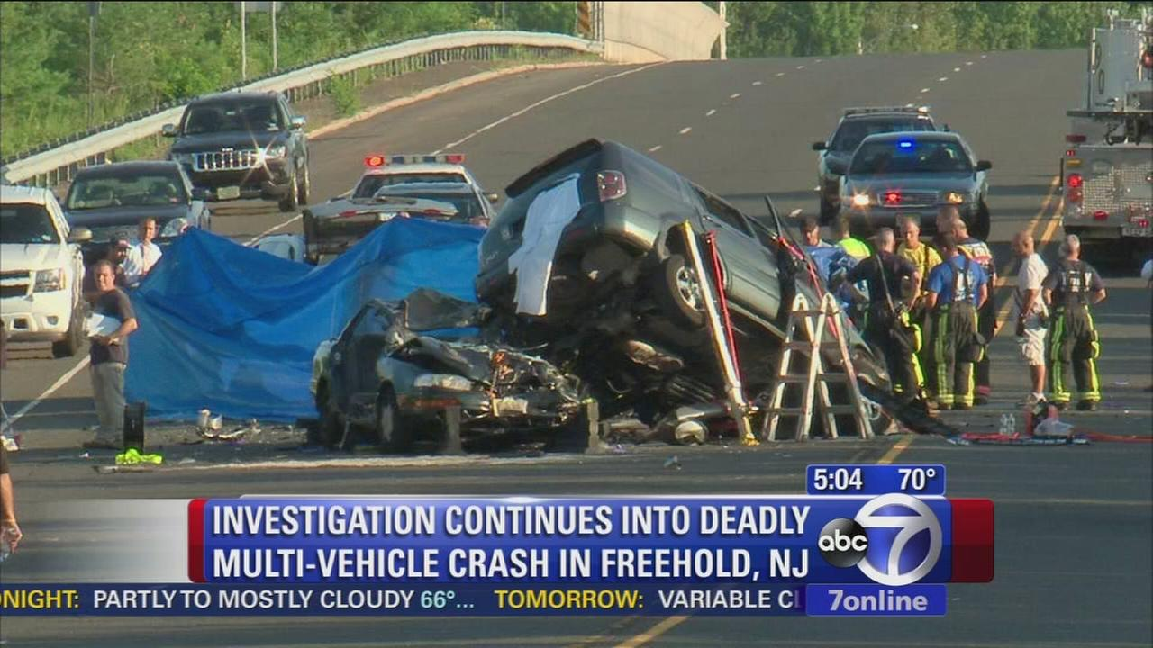 Investigation into deadly car wreck in NJ