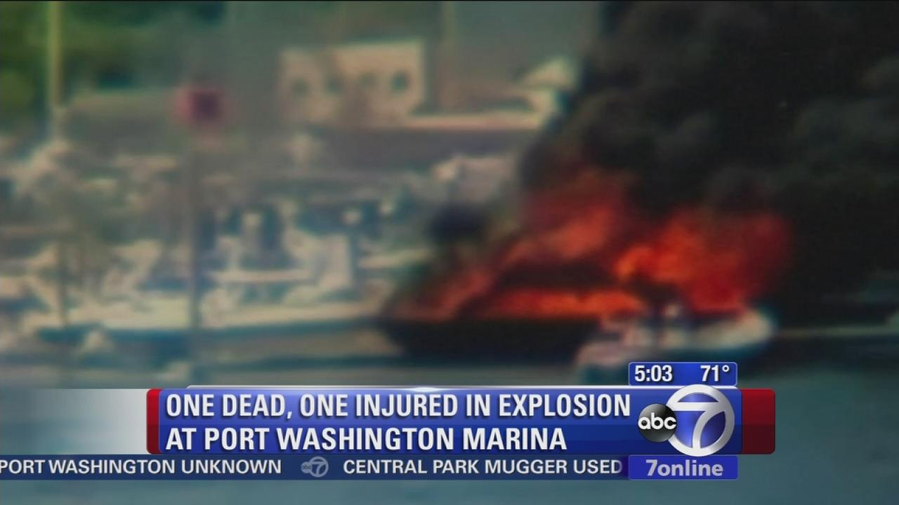 1 killed in Port Washington boat explosion
