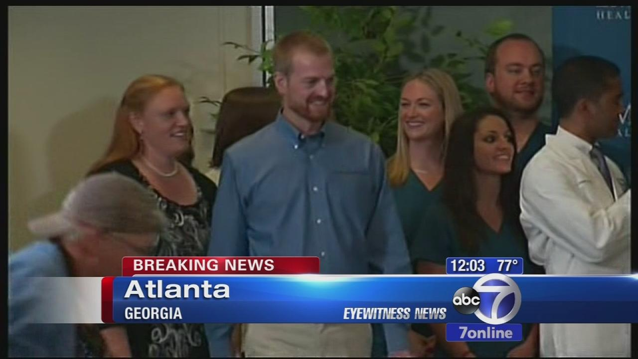 2 Americans declared Ebola-free, released from hospital