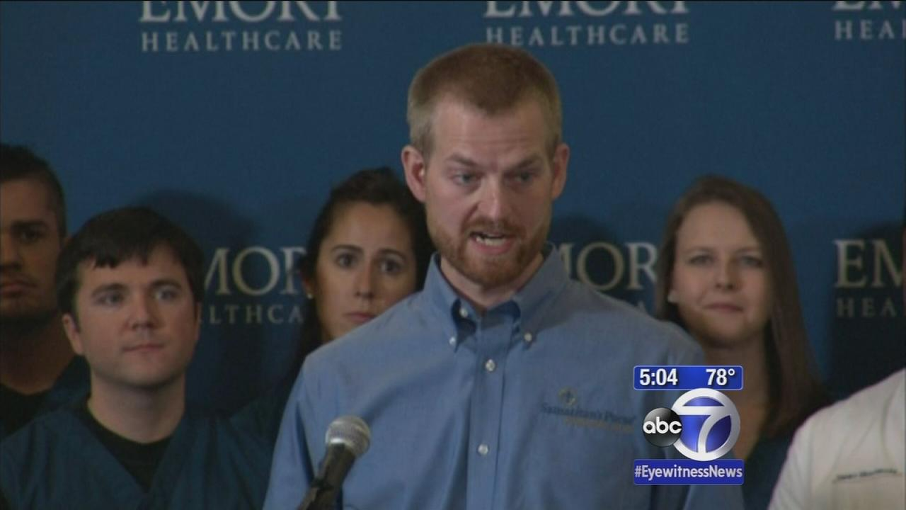 American Ebola patients released from hospital