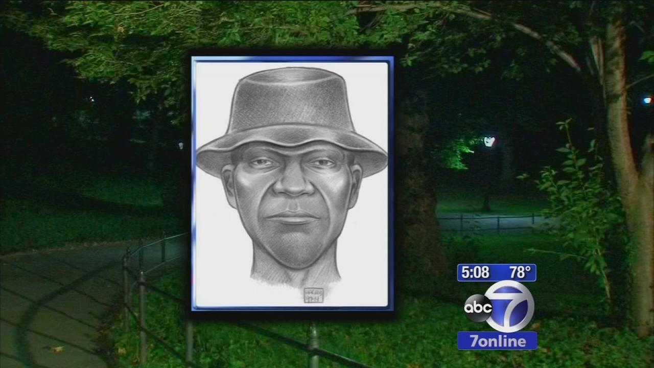 Police release sketch of Central Park choke attack suspect