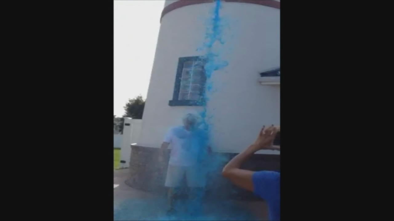 Strollos Lighthouse Ice Bucket Challenge