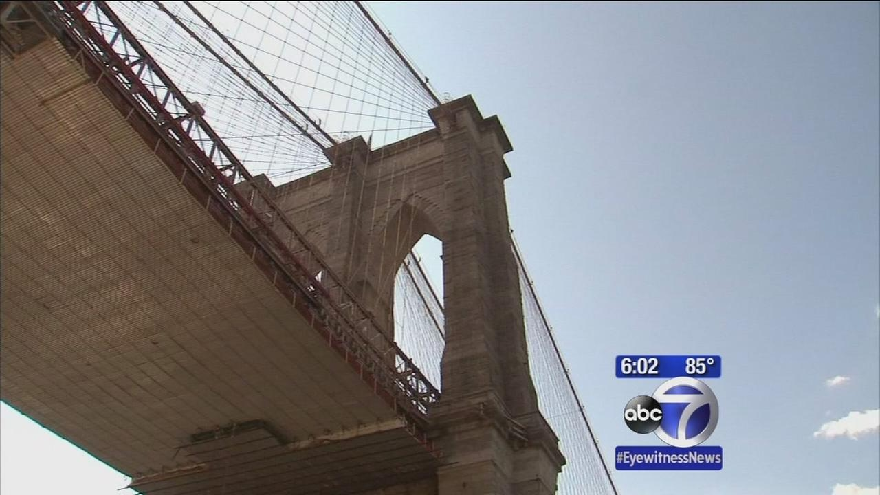 Russian tourist breaches Brooklyn Bridge security