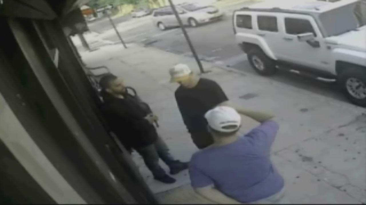3 men wanted for robbing a spa with a hammer