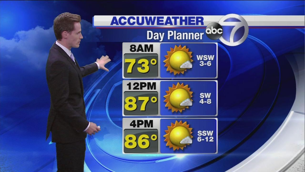 AccuWeather Day Planner