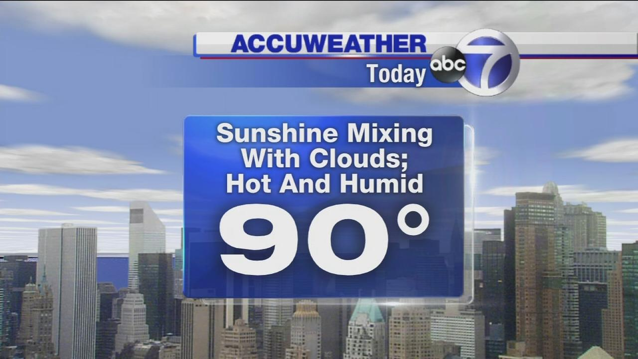 AccuWeather: A return to 90