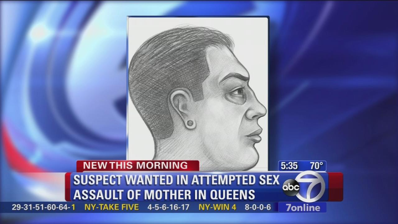 Sketch released in Queens attempted sex assault